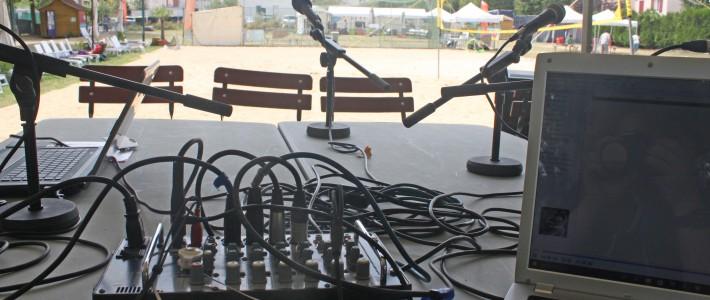 Atelier radio à Vauréal plage
