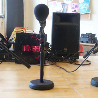 studio radio mediatraining Arnaud Biree prise de parole arnaud Biree